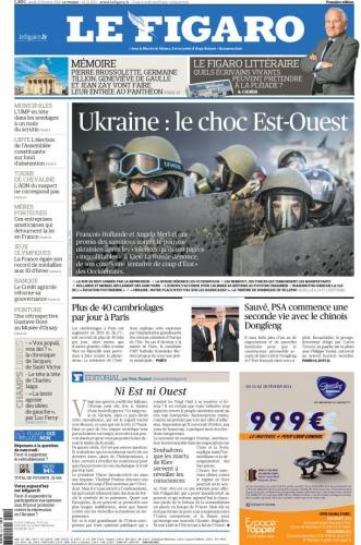 Ukraine le choc Est Ouest lefigaro-cover.jpg