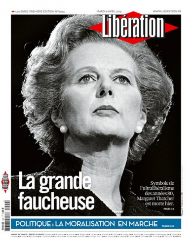 Margaret Thacher La grande faucheuse liberation-cover.jpg