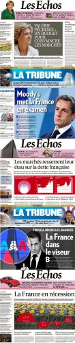 france,dégradation,triple a,aaa,note,ump,ps,nicolas sarkozy,agence de notation,moody's,fitch,standard & poor's,s&p