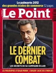 élections présidentielles 2012 UMP Sarkozy Le dernier combat lepoint-cover.jpg