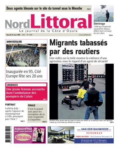 Calais immigration Migrants tabassés par des routiers.jpeg