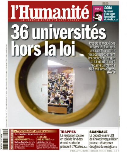 Université, financement, étudiant, bourses, endettement, privatisation, France