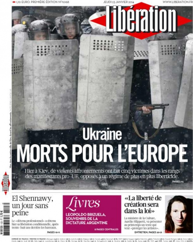 Ukraine Morts pour l'Europe liberation-cover-23-01-14.jpg
