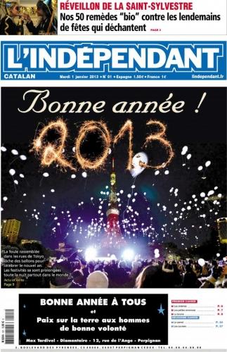 Bonne année 2013 independant-cover.jpg