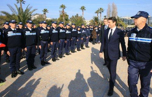 police municipale, nice, revue, Christian Estrosi